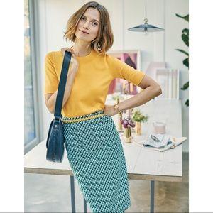 NWT Boden Richmond Pencil Skirt